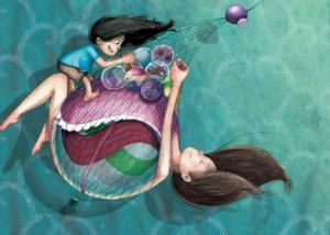 illustration-quelque-chose-de-rond-bille-maman-enfant-jeunesse-livre-jeremy-parigi