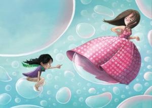 illustration-quelque-chose-de-rond-bulle-maman-enfant-jeunesse-livre-jeremy-parigi