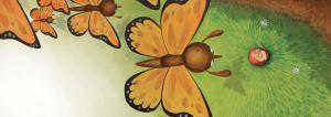 illustration-youth-butterflies-apple-worm-champ-aux-mille-fleurs-papillons-pomme-ver-jeremy-parigi