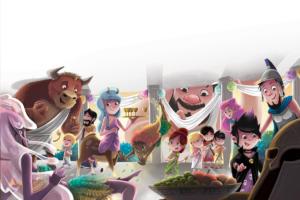 illustration-youth-petits-dieux-olympe-zeus-poseidon-hera-hestia-hades-anniversaire-birthday-jeremy-parigi